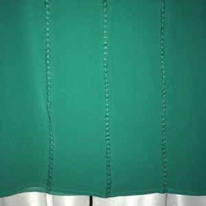 Brixon Ivy Tops - Emerald Green Crochet lace light top